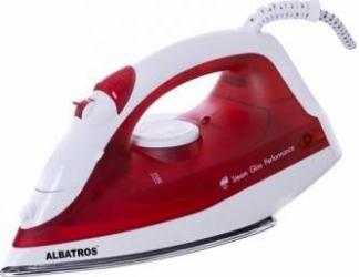 Fier de calcat Albatros Viva Talpa Inox 1800W 175ml Rosu Fiare, Prese si Statii de Calcat
