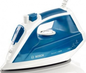 Fier de calcat Bosch TDA1023010 Talpa Palladium Glissee 2300W 300ml Albastru Fiare, Prese si Statii de Calcat
