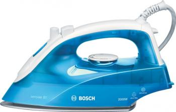 Fier de calcat Bosch TDA2610 Talpa Palladium Glissee 2000W 260ml Albastru