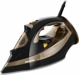 Fier de calcat Philips Azur Performer Plus GC4527/00 Talpa T-IonicGlide 2600W 0.3L 220g/min Compartiment Anti-Calc Negru Fiare, Prese si Statii de Calcat
