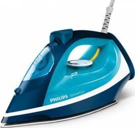 Fier de calcat Philips Smooth Care GC3582/20, Talpa EasyFlow Ceramic, 2400 W, 0.4 l, 170 g/min, Functie curatare Calc C Fiare, Prese si Statii de Calcat