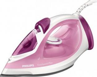 Fier de calcat Philips EasySpeed Plus GC2042/40, Talpa ceramica, 2100 W, 0.27 l, 100 g/min, Alb/Roz  Fiare, Prese si Statii de Calcat