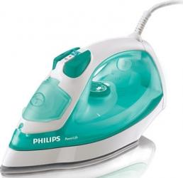 Fier de calcat Philips PowerLife GC292070 Talpa SteamGlide 2200W Anti-picurare Verde Fiare, Prese si Statii de Calcat