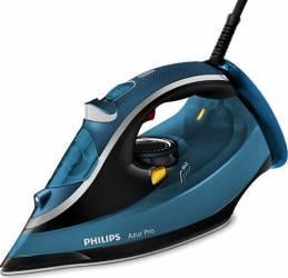 Fier de calcat Philips GC488020 Talpa T-ionicGlide 2800W 350ml Albastru