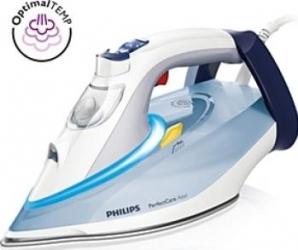 Fier de calcat Philips PerfectCare Azur GC491010 Talpa SteamGlide Plus 2400 W Fiare, Prese si Statii de Calcat