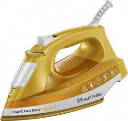 pret preturi Fier de calcat Russell Hobbs Light Easy Brights Talpa ceramica colorata 2400 W 0.24 l 90 gmin Galben