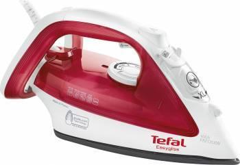 Fier de calcat Tefal Easygliss FV3922 Talpa Durilium 2300W 0.27 l 120 g/min Alb/Rosu  fiare prese si statii de calcat