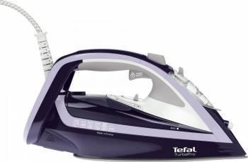 Fier de calcat Tefal Turbo Pro 2600W 200 gr/min Talpa Autoclean Airglide 300 ml Mov Fiare, Prese si Statii de Calcat