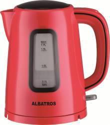 Fierbator Albatros Elegance 2200W 1.7L Oprire automata Rosu Fierbatoare
