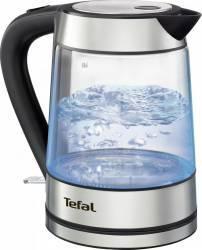 Fierbator de apa Tefal Glass Kettle KI730D30 2400W 1.7L Argintiu Fierbatoare