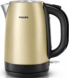 Fierbator Philips HD9324/50, 2200 W, 1.7 l, Metal de culoarea sampaniei Fierbatoare