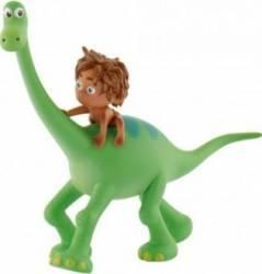 Figurina Bullyland Arlo cu Spot - The Good Dinosaur Papusi figurine si accesorii papusi