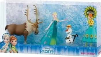 Figurina Bullyland Elsa Anna Olaf and Sven - Frozen Fever Papusi figurine si accesorii papusi