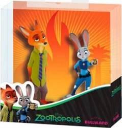 Figurina Bullyland Nick Wilde and Judy Hopps - Zootropolis Papusi figurine si accesorii papusi