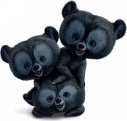 Figurina Bullyland Triplets - Merida