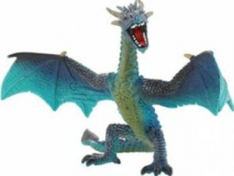 Figurina Bullyland Turquoise Dragon Papusi figurine si accesorii papusi