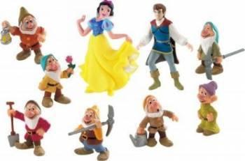 Figurina Bullyland White Snow 9 Pieces Papusi figurine si accesorii papusi