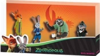 Figurina Bullyland Zootropolis - 4 Figures Papusi figurine si accesorii papusi