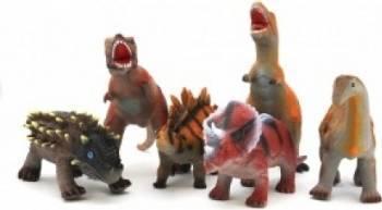 Figurina dinozaur moale 40 cm 6 modele Papusi figurine si accesorii papusi