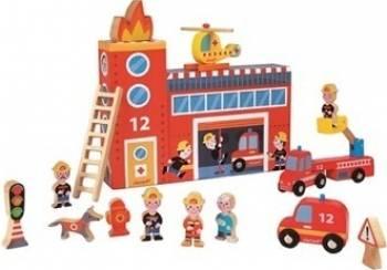 Figurina Janod My Story - Firefighters Station Papusi figurine si accesorii papusi