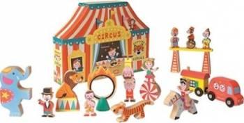 Figurina Janod My Story - Happy Circus 19 pieces Papusi figurine si accesorii papusi