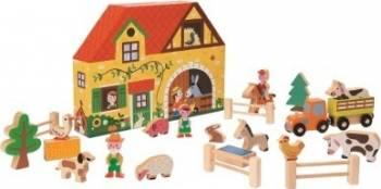 Figurina Janod My Story - Happy Farm 23 pieces Papusi figurine si accesorii papusi