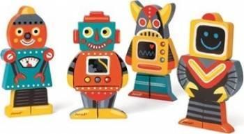 Figurina Janod Robots Papusi figurine si accesorii papusi