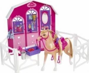 Figurina Mattel Horse and Stable - Barbie Papusi figurine si accesorii papusi