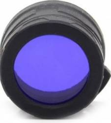 Filtru albastru Nitecore NFB23 Lanterne si Accesorii
