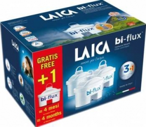 Filtru cana de filtrare a apei Laica Biflux 3+1