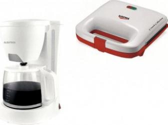 pret preturi Filtru de cafea Albatros Verona White 2 680 W 1.2 l + Sandwichmaker Albatros S2A-750 750 W Alb
