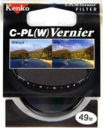 Filtru Kenko Vernier Polarizare Circulara 49mm Accesorii Obiective