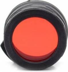 Filtru Nitecore NFR40 Rosu Lanterne si Accesorii