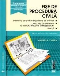 Fise de procedura civila ed.4 - Andreea Ciurea