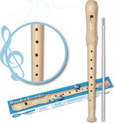 Flaut din lemn Bontempi Jucarii muzicale