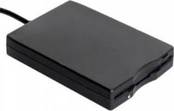 Floppy disk Extern Gembird USB 3.5 inch fld-usb-02 Negru Accesorii Diverse