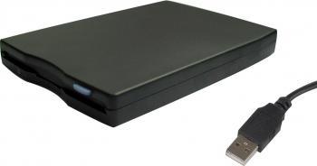 Floppy Disk Gembird Extern FLD-USB Black