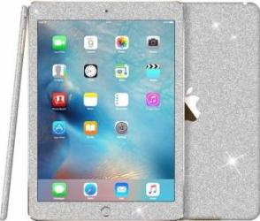 Folie Autocolanta cu sclipici pentru Ipad Mini 4, argintiu Folii protectie tablete