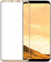 Folie De Protectie Tellur Sticla Securizata 3D Samsung Galaxy S8 Plus G955 Auriu Folii Protectie