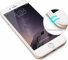 pret preturi Folie de Protectie Tellur Tempered Glass 3D Tellur Curbata pentru iPhone 6-6S Plus Alba
