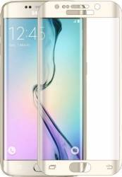 Folie de Protectie Kabelwelt Sticla Curbata Samsung Galaxy S6 Edge G925 Aurie Folii Protectie