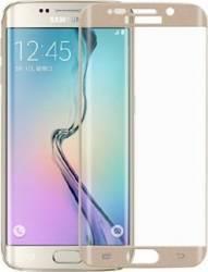 Folie Protectie Sticla Curbata Samsung Galaxy S7 Edge Auriu Folii Protectie