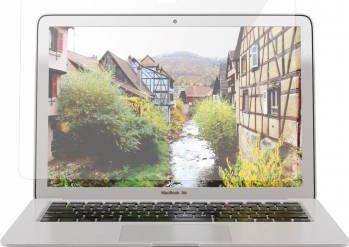 Folie protectie sticla nano glass flexibila pentru Macbook Air 13 inch A1466 A1369 transparent Accesorii Laptop
