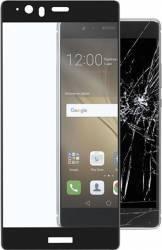 Folie Protectie Sticla Securizata Cellularline Full Body Huawei P9 Plus Negru Folii Protectie