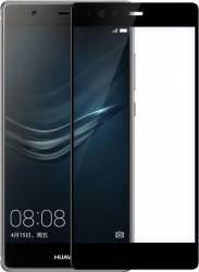 pret preturi Folie Protectie Sticla Securizata Curbata Huawei P9, negru