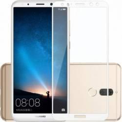 pret preturi Folie protectie sticla securizata full size pentru Huawei Mate 10 Lite, alb