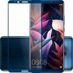 pret preturi Folie protectie sticla securizata full size pentru Huawei Mate 10 Pro albastru