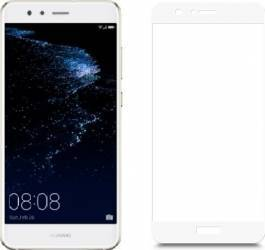 pret preturi Folie protectie sticla securizata Full Size Huawei P10 Lite Alb