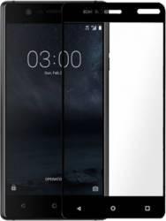 pret preturi Folie protectie sticla securizata full size pentru Nokia 3, negru