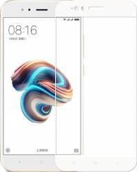 Folie protectie sticla securizata Himo full size pentru Xiaomi A1 si MI 5X alb Folii Protectie